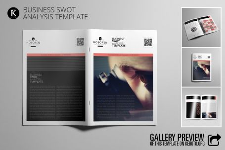 Business SWOT Analysis Template - http\/\/luvly\/items\/5270 - analysis template