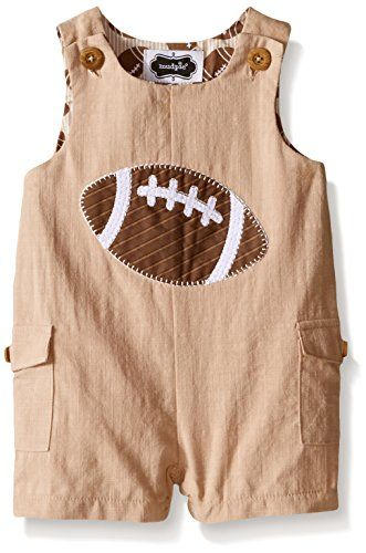 97d8b4599414 Mud Pie Baby Football Romper Football 69 Months >>> You can find out more  details at the link of the image.