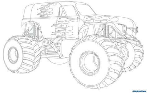 Wonderful Image Of Trucks Coloring Pages Davemelillo Com Monster Truck Coloring Pages Truck Coloring Pages Cars Coloring Pages