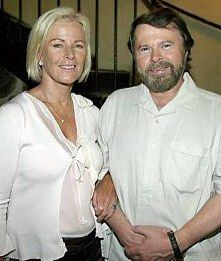 Anni-Frid and Bjorn - ABBA -