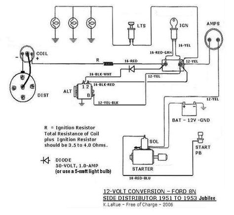 1951 8n Wiring System Diagram | Wiring Schematic Diagram  Ford Wiring Diagram on