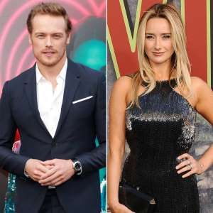 Outlander S Sam Heughan Is Dating Twin Peaks Amy Shiels Image