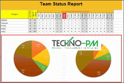 Team Status Report Template Resource Plan Report Template