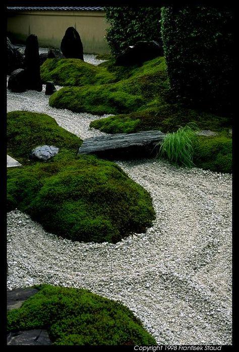 Garden In Zuiho In Temple Kyoto Zen Garden Pinterest Garten