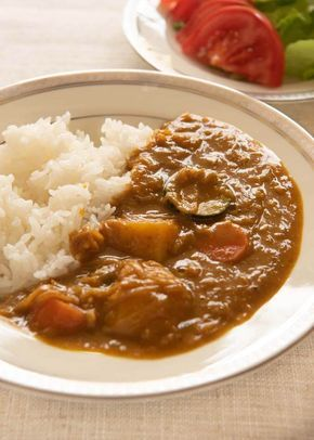 The Consistency Of Japanese Vegetarian Curry Is Just Like The Store Bought Japanese Curry Roux I Vegetarian Curry Vegetarian Japanese Curry Recipes Vegetarian