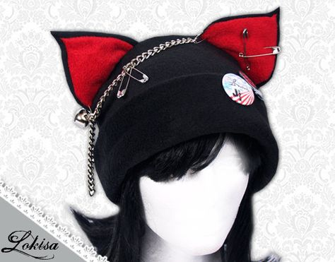 ____________________________________________________________________ This cat-ear fleece hat is made with a lot of care and patience. No seams are to be seen at the outer shell of the hat (front and back). The ears are stuffed with a soft batting, which allows them to stand up by themselves. It is comfortable and cozy to wear. You may wear it for your cosplay, to anime conventions, to concerts, parties, or anywhere else you would like to impress your friends. Hope you will love it! ^__~ Mat...