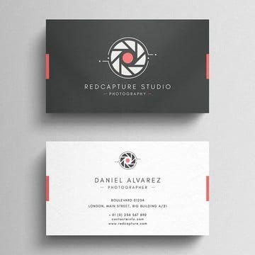 التصوير التجاري بطاقة Photography Business Cards Photography Business Cards Template Company Business Cards