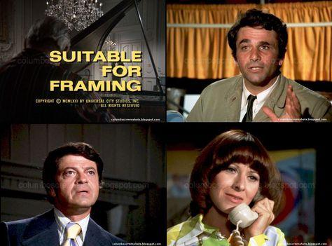 Columbo - Suitable for Framing (1971) Season 1 - Episode 4 | Columbo ...