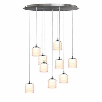 Boley 4 Light Led Cluster Cylinder Pendant Dining Room Design Modern Led Lights Ceiling Pendant Lights