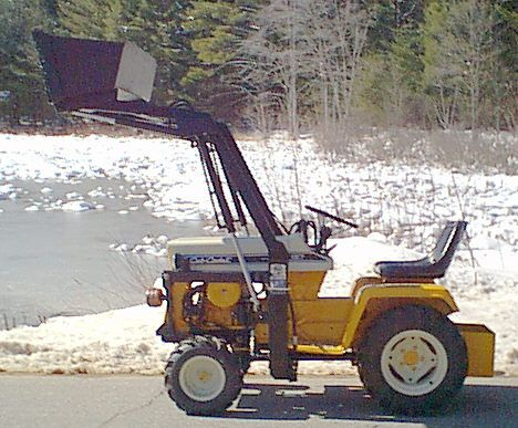 Cc 127 W Loader Uploaded In Loaders Anyone Tractor Idea Riding Mowers Lawn Tractor