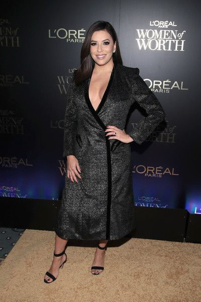 Eva Longoria attends the L'Oreal Paris Women of Worth Celebration 2017.