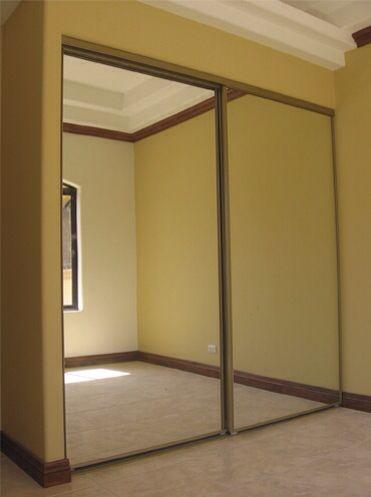 Puerta de Closet en Espejo Corrediza Closet Pinterest Room