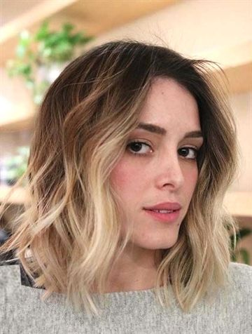 Modern Ideas Of Short Blonde Ombre And Textured Hairstyles For Women To Show Off In These Days If You Are Short Ombre Hair Ombre Hair Color Ombre Hair Blonde