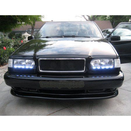 1993 1997 Volvo 850 Led Drl Light Strips For Headlamps Headlights Head Lamps Day Time Running Lights Walmart Com Volvo Volvo 850 Strip Lighting