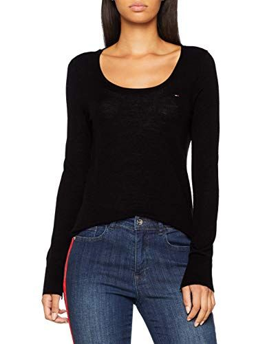 Tommy Jeans Womens Basic Crew Neck Jumper
