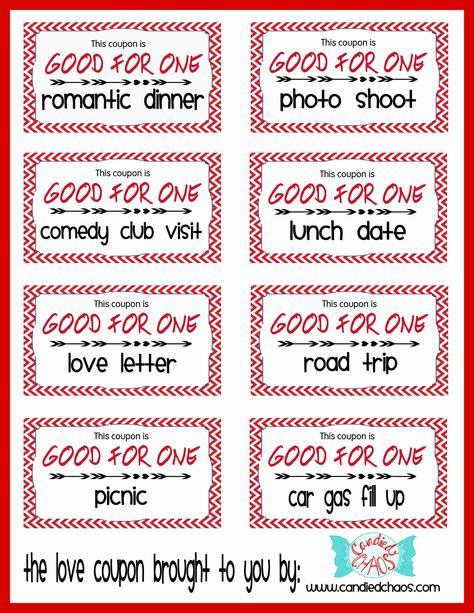 coupons for girlfriend ideas