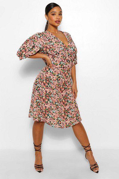36+ Boohoo floral tea dress ideas