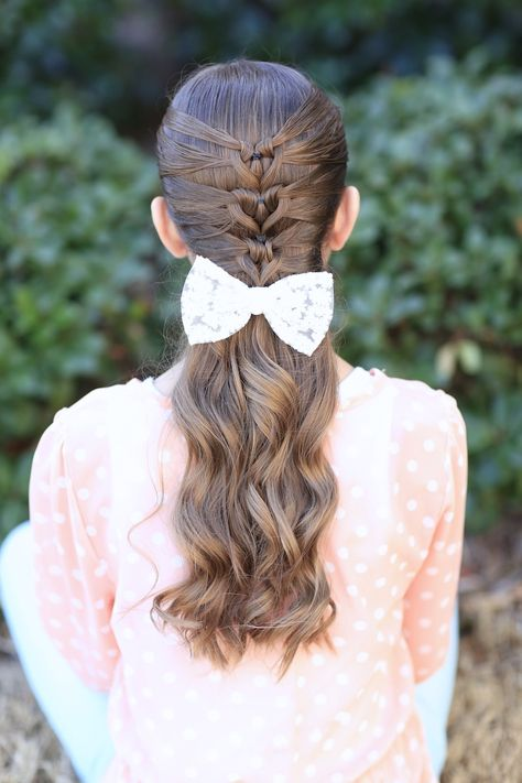 Valentine's Day Hairstyle #cutegirlshairstyles #heart #valentinesday #hairstyles #hairstyle