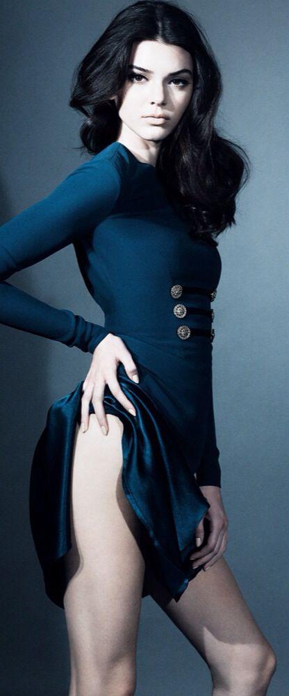 Kendall Jenner For Interview. Wonderful Blue Sreaa