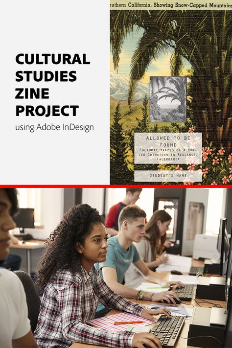 Cultural Studies Zine Project Using Adobe InDesign