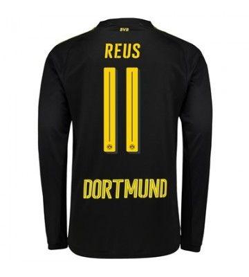 Marco REUS BORUSSIA DORTMUND Black Away Soccer jersey Trikot