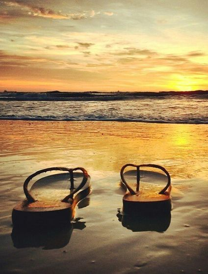 Why I carry my flip flops close to my heart