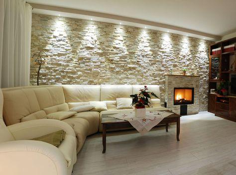 Luce scenografica led per soggiorno idee illuminazione soggiorno