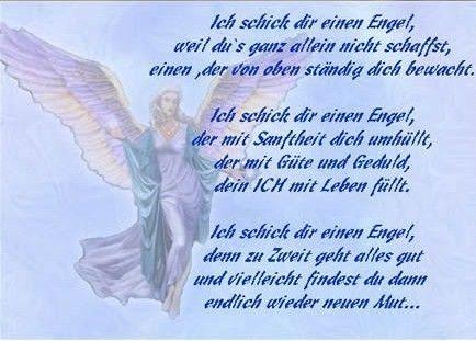 Ich Schick Dir Einen Engel Engel Macht Der Worte Und