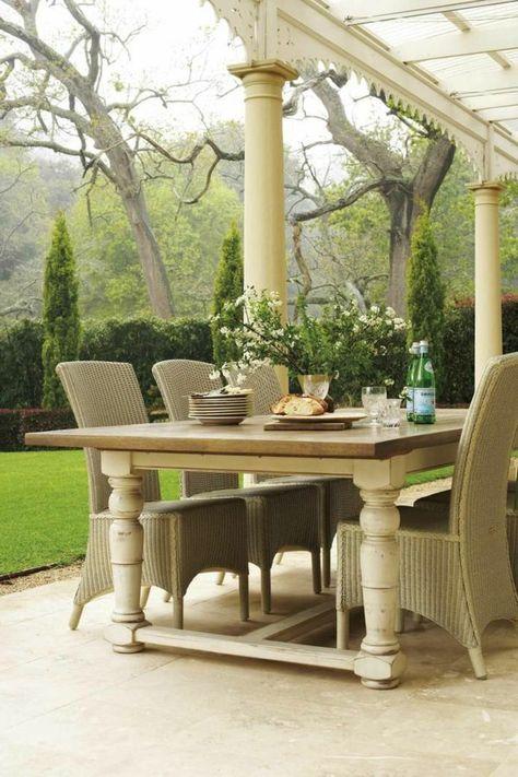 70 photos de tables de jardin qui vont transformer la cour ! | la ...
