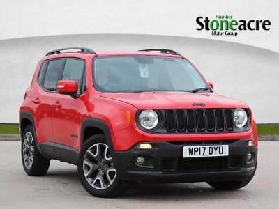 Ebay 2017 Jeep Renegade 1 4 Multiair Ii Night Eagle Ii Suv 5dr