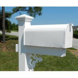 Post Mounted Mailbox Mounted Mailbox Mailbox Decor Post Mount