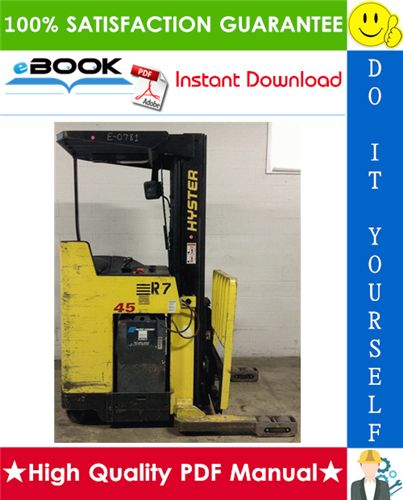 This is the COMPLETE Parts Manual for the Hyster N30XMDR3
