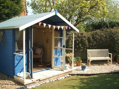 i would love to have a garden shed and a reading shed and then they would call me two sheds going home someday pinterest gardens beach huts and - Garden Sheds Reading