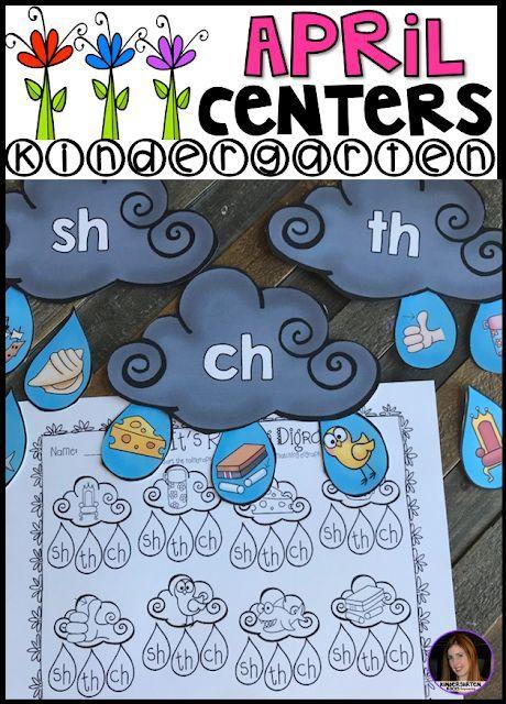 Kindergarten Literacy Centers Beginning Sounds Cvc And Letters Literacy Centers Kindergarten Letter Activities Preschool Kindergarten Literacy