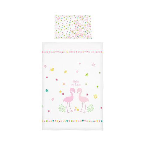 Bornino Home Renforce Bettwasche Flamingos 40x60 100x135 Cm