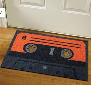 Cool tape cassette mat