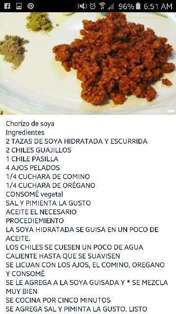 Paleo Chorizo Chorizo De Soya Chorizos Para Puertas Como Hacer Casa Chorizo Cas En 2020 Recetas Con Chorizo Frijoles Con Chorizo Recetas Vegetarianas Mexicanas
