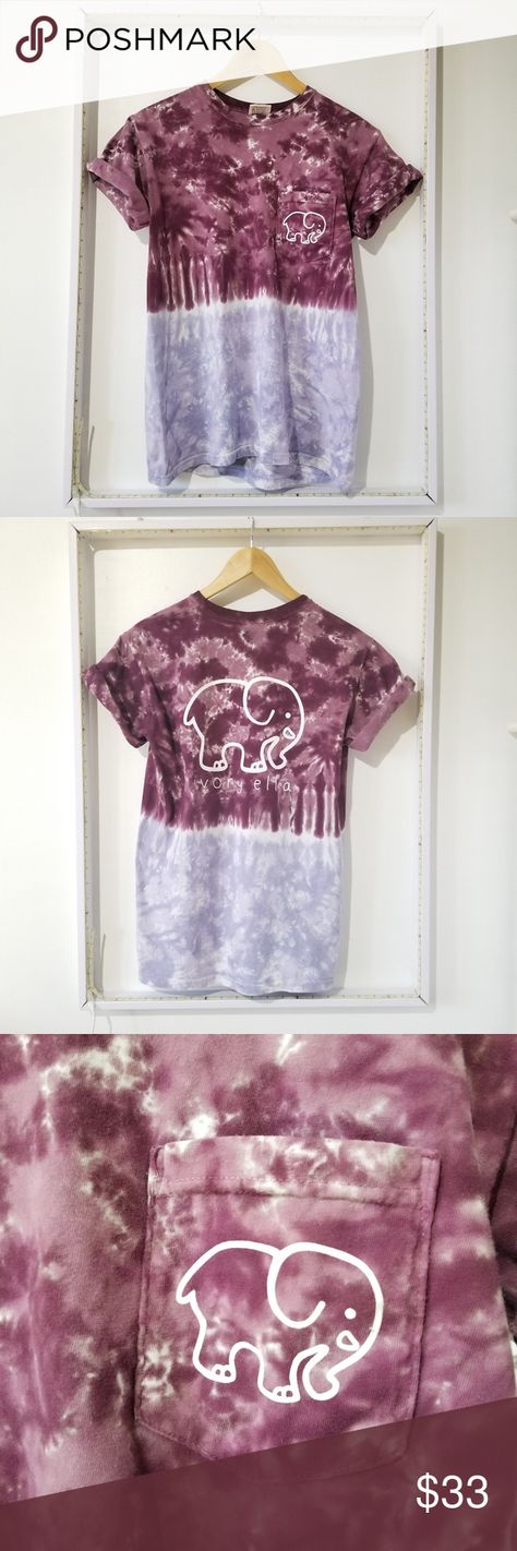 dff5b34fe639 Ivory Ella Classic Ombre Tie Dye T-Shirt Tee S Excellent gently used  condition.