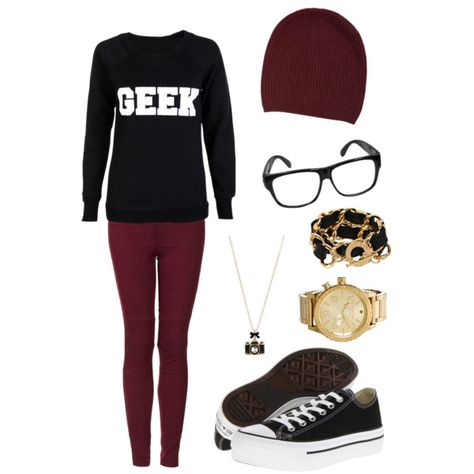40 Geek and Nerd Girl Outfit Ideas 2017 in 2020 (With