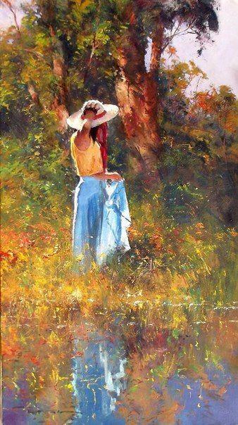 Painel De Comentarios Figure Painting Female Art Art Gallery