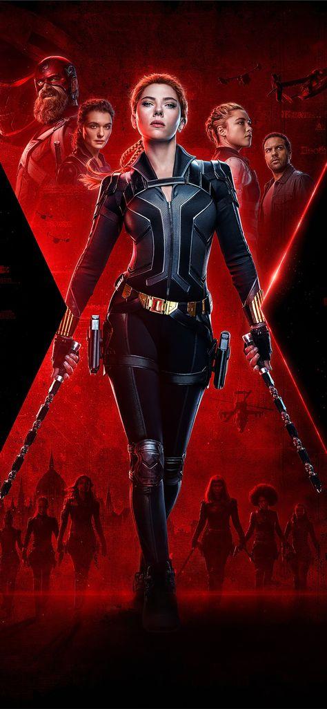 black widow 2020 movie 4k poster iPhone 11 Wallpapers