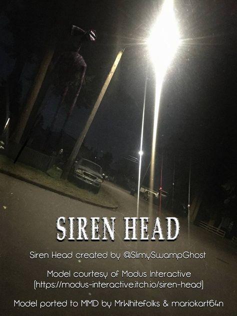 75 Best Siren Head Images In 2020 Siren Creepy Art Creepy Images