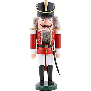 A lovely, traditional nutcracker from the Ore Mountain region of Germany. A must for Christmas.