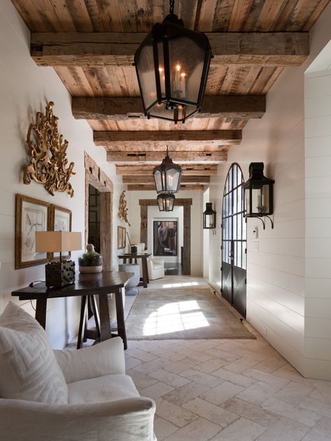 Tuscan design – Mediterranean Home Decor Style At Home, Grand Entryway, Grand Entrance, American Houses, Tuscan Design, Tuscan Style, Tuscan Decorating, House Goals, Home Fashion