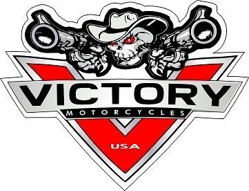 New Logo Victory Sticker Decal Hardball Cross Vision Judge 8 Ball