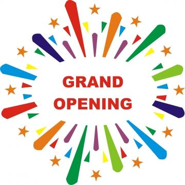 Grand Opening Poster Background With Sunburst Opening Grand Banner Png And Vector With Transparent Background For Free Download Grand Opening Purple Background Images Free Graphic Design