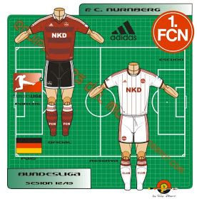 reputable site 21e76 d3687 1. FC Nuremberg of Germany kits for 2012-13. | Football kit ...