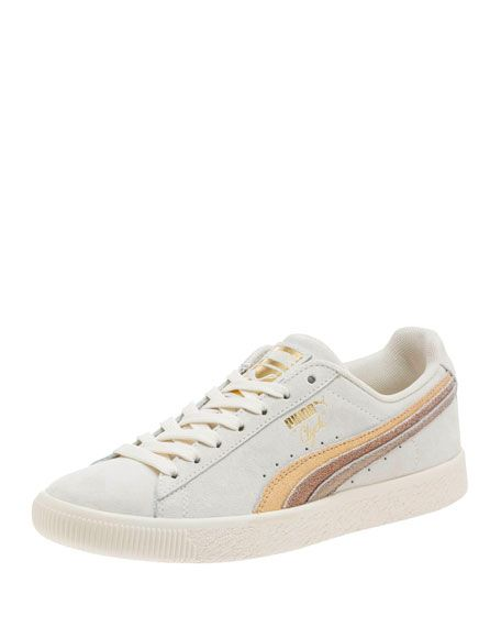 0475addecf Puma Clyde Suede Platform Sneakers | style inspiration | Sneakers ...