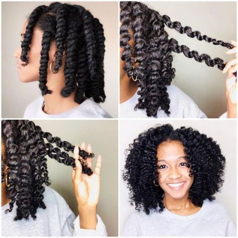 Flat Twist out and a Regular Twist out. Learn Step by step d-Flat Twist out and a Regular Twist out. Learn Step by step direction How To Do A Flat Twist Out & A Regular Twist Out - Flat Twist Out, Short Hair Twist Out, Two Strand Twist Out, Chunky Twist Out, Twist Out Styles, Natural Hair Twist Out, Natural Hair Updo, Twist Outs, Styling Natural Hair