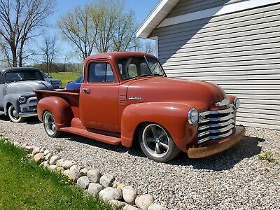Ad 1953 Chevrolet 3100 1953 Chevy 5 Window Pickup Truck Street Rod 5 3 Ls Solid Truck Fuel Injected Afflink Hotrod In 2020 Chevrolet Chevrolet 3100 Pickup Trucks